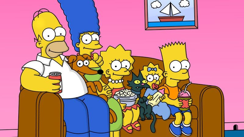 Illustration for article titled Springfield, Oregon securing its link to The Simpsons with a mural
