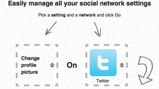 Illustration for article titled Update All of Your Social Network Settings from One Page with Bliss Control
