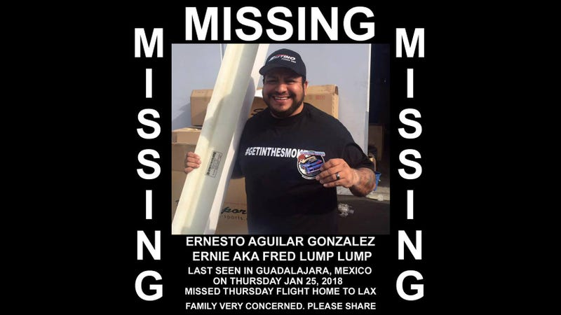 Illustration for article titled Help Find This Drifting Enthusiast Who's Been Missing In Mexico For Days
