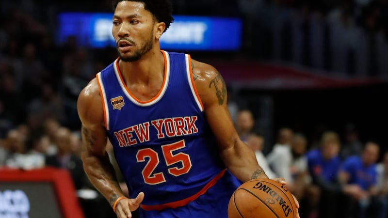 Derrick Rose Suffers Torn Meniscus, Out For The Season