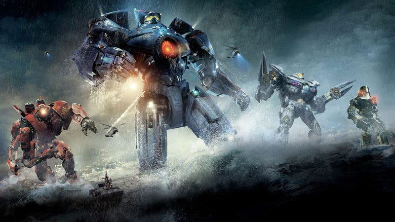 Illustration for article titled Pacific Rim. A 132 minute orgasm of absolute epicness.