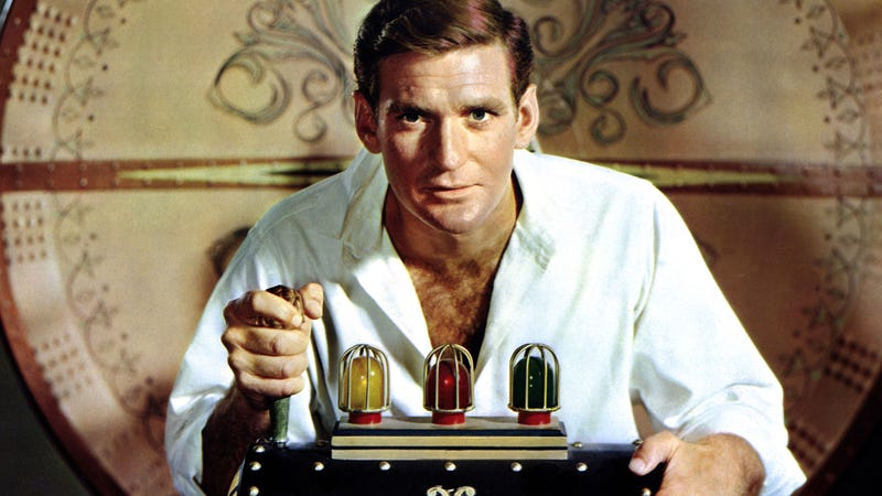 Rod Taylor, starring in the 1960 version of The Time Machine.