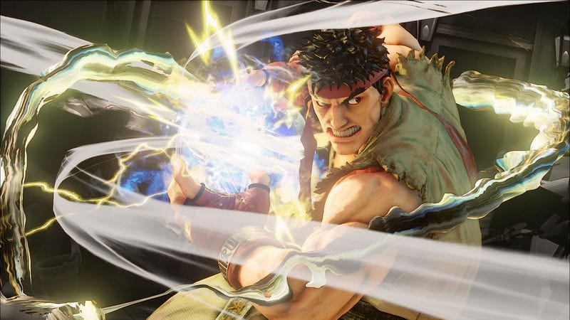Illustration for article titled No matter what character you play, in Street Fighter V, we're all Ryu