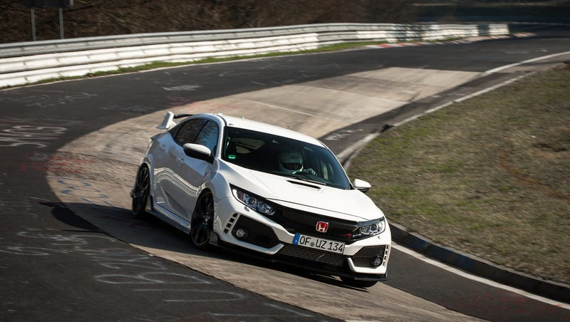 Illustration for article titled The 2018 Honda Civic Type R Is The New Front-Wheel Drive Nürburgring King