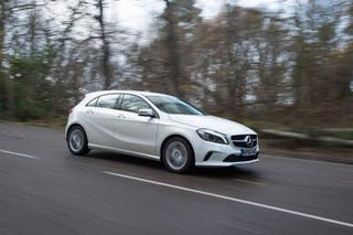 Illustration for article titled Had a ride in a Merc A180d today.