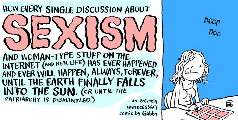 Illustration for article titled Laugh At Online Sexism, So You Don't Cry
