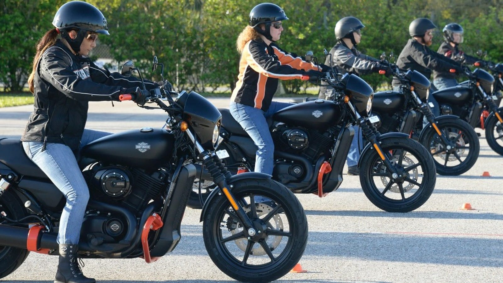 Harley Davidson Offers Students An Opportunity To Ride For