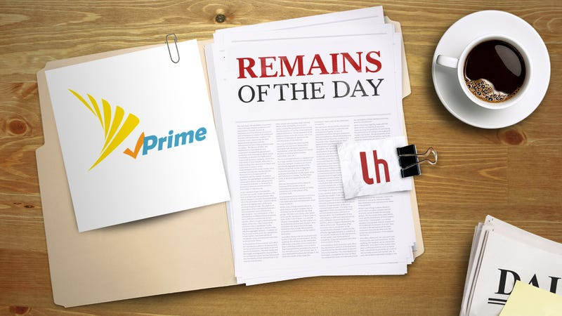 Illustration for article titled Remains of the Day: A Deal on Amazon Prime so Awful It Must Be an April Fool's Joke