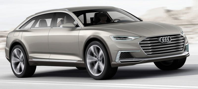 Illustration for article titled The Audi Allroad Has Never Looked As Sexy As This 734 HP Concept