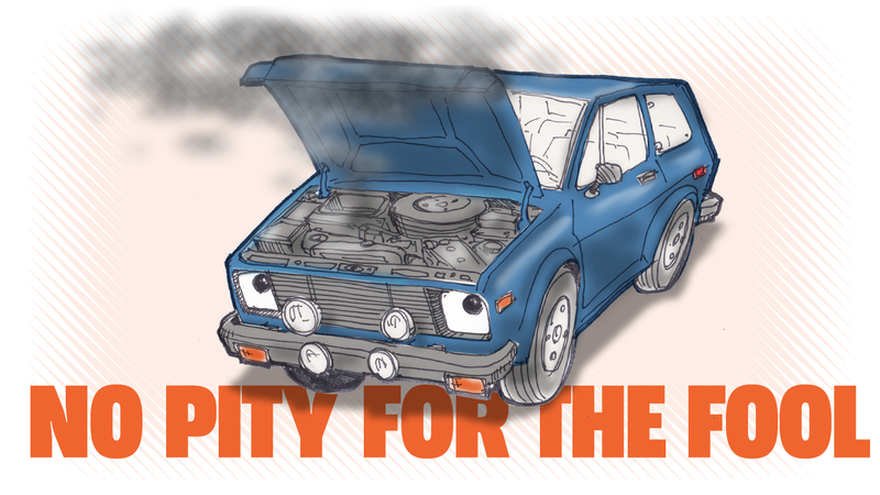 Illustration for article titled You Get No Sympathy When You Break Down in a Yugo