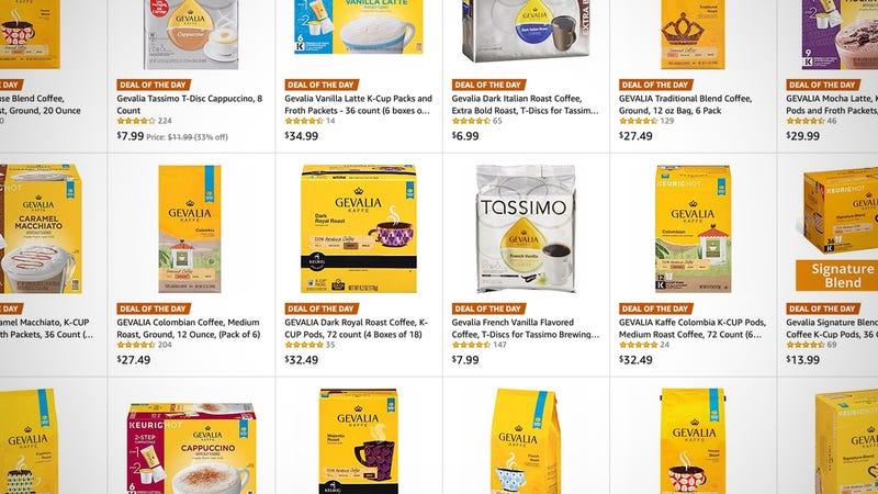 Gevalia Coffee Gold Box | Amazon