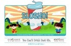 Illustration for article titled Slusho! Promo Is Piss-Poor Copy Of Real Japanese Ads