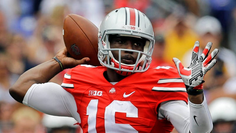Illustration for article titled Ohio State QB J.T. Barrett Suspended After Arrest On Drunk Driving Charge