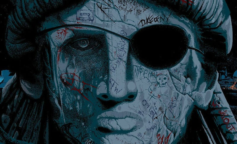 Illustration for article titled Lady Liberty Takes Center Stage on This Stunning Poster for Escape From New York