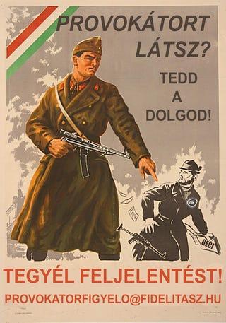 Illustration for article titled A Cinkre is hivatkozva szólít fel besúgóskodásra a fideszes ifjú gárda