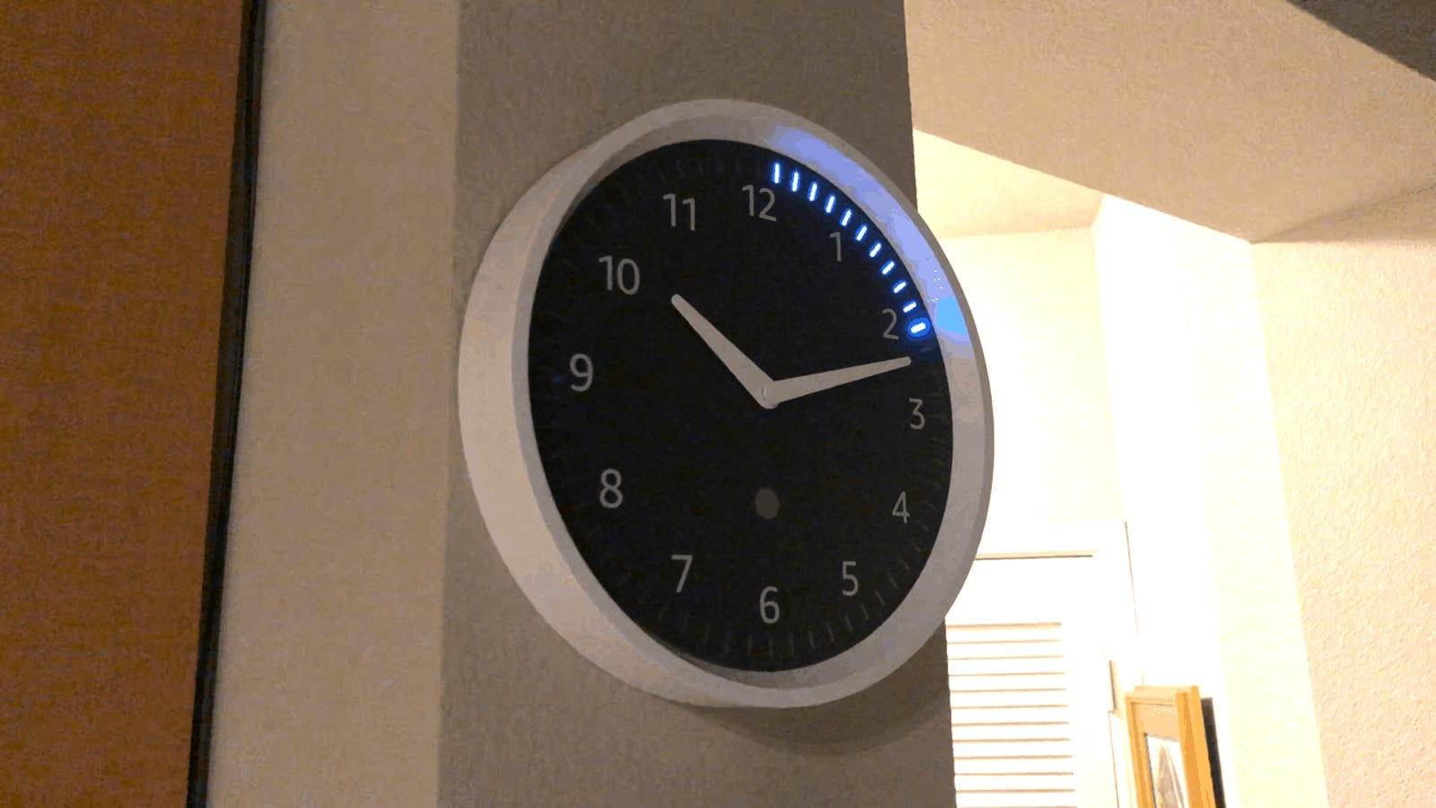Amazon's Echo Wall Clock Is On Sale For the First Time Ever