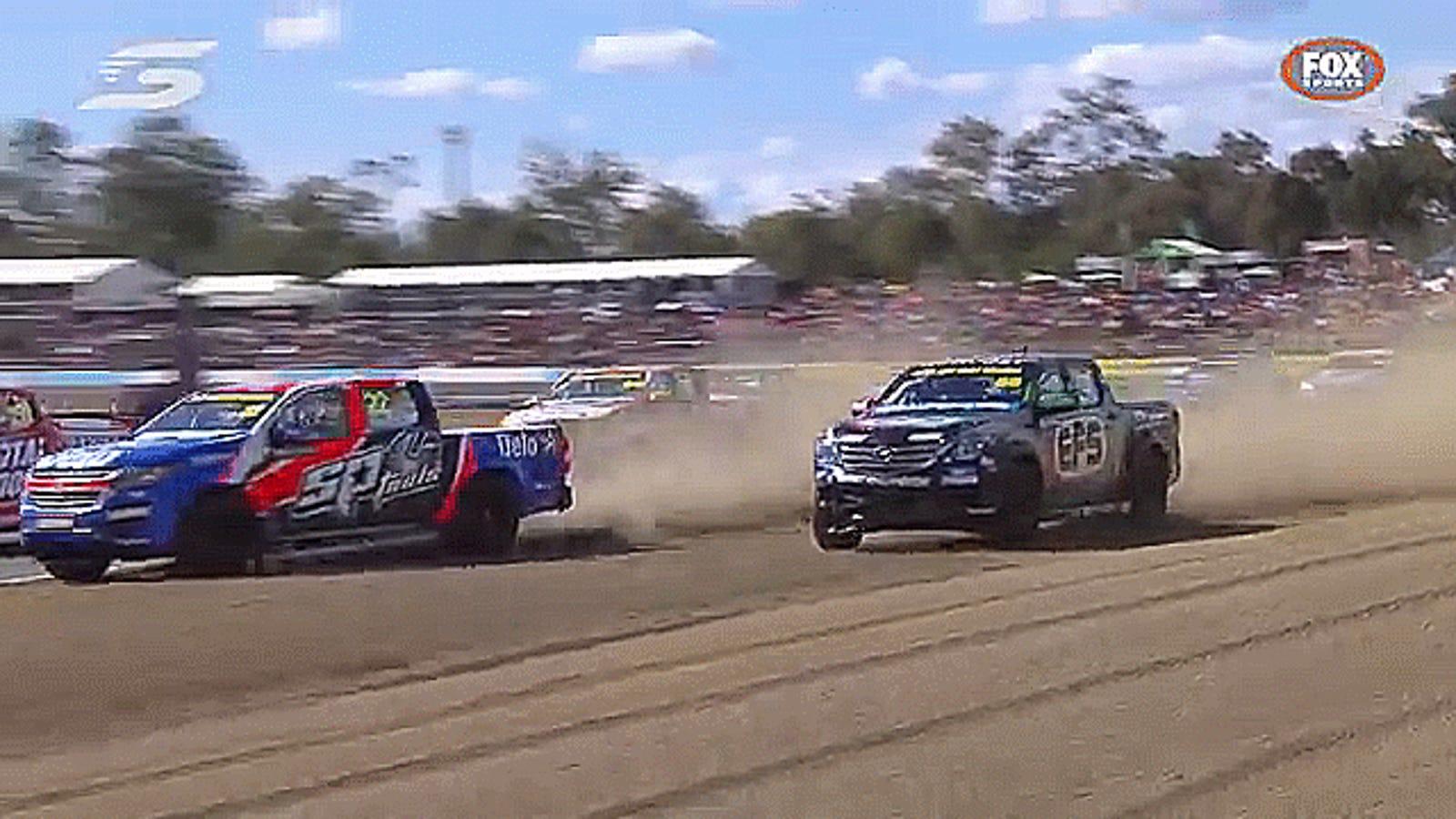 Australian Racing Series Attempts To Send Truck Parts Into Low Orbit