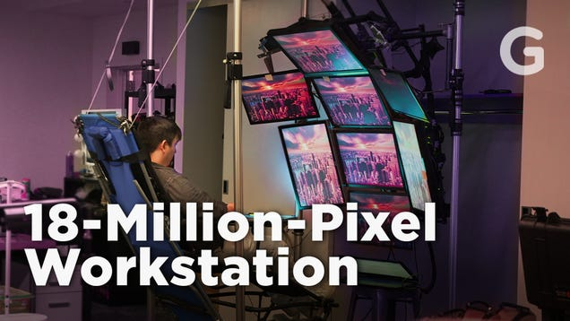 I Bought This Custom 18-Million Pixel Workstation on Craigslist, and It Very Nearly Ruined Me