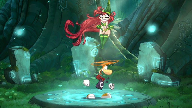 Illustration for article titled Rayman Origins' First 'Episode' Hits HD Consoles This Christmas