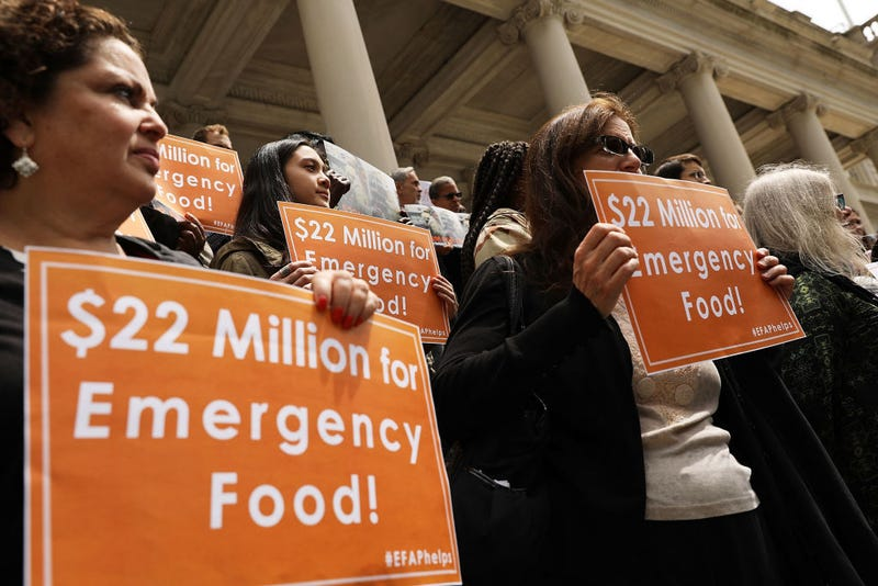 Advocates For New Yorkers In Need Demand More Money in Budget For Food Assistance
