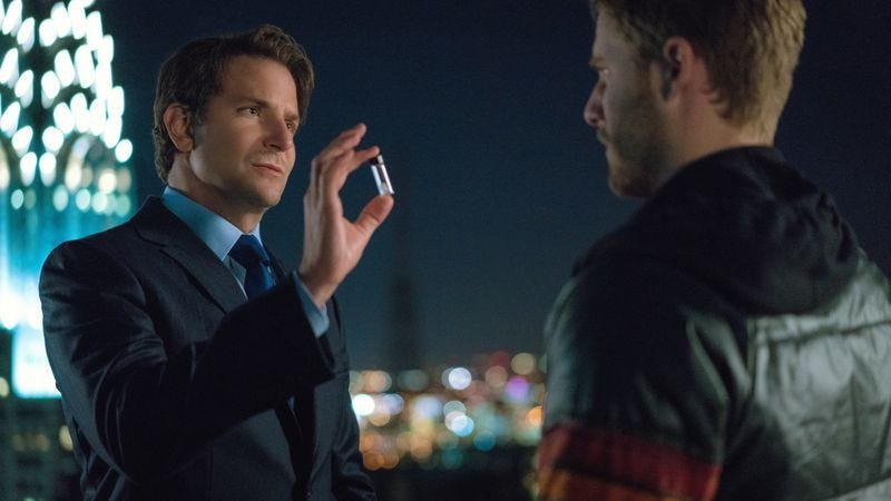 Bradley Cooper and Jake McDorman in Limitless (CBS)