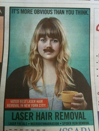 Illustration for article titled The Only Mustaches Women Can Have Are Milk Mustaches