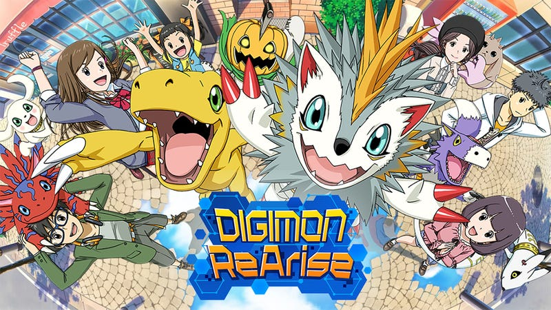 Illustration for article titled The New Digimon Mobile Game Is More About Bonding Than Battling