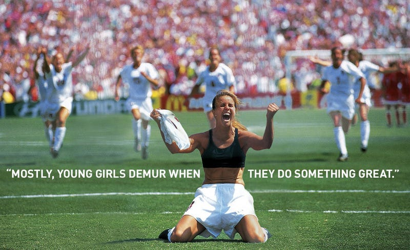 premium selection 05a79 7fb84 How The Most Iconic Photo In Women s Soccer Was Almost Never Taken