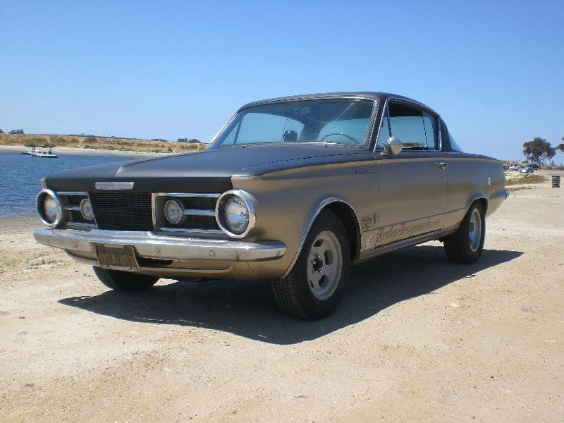 Illustration for article titled Rags to Riches 1964 Plymouth Barracuda for $5,300!