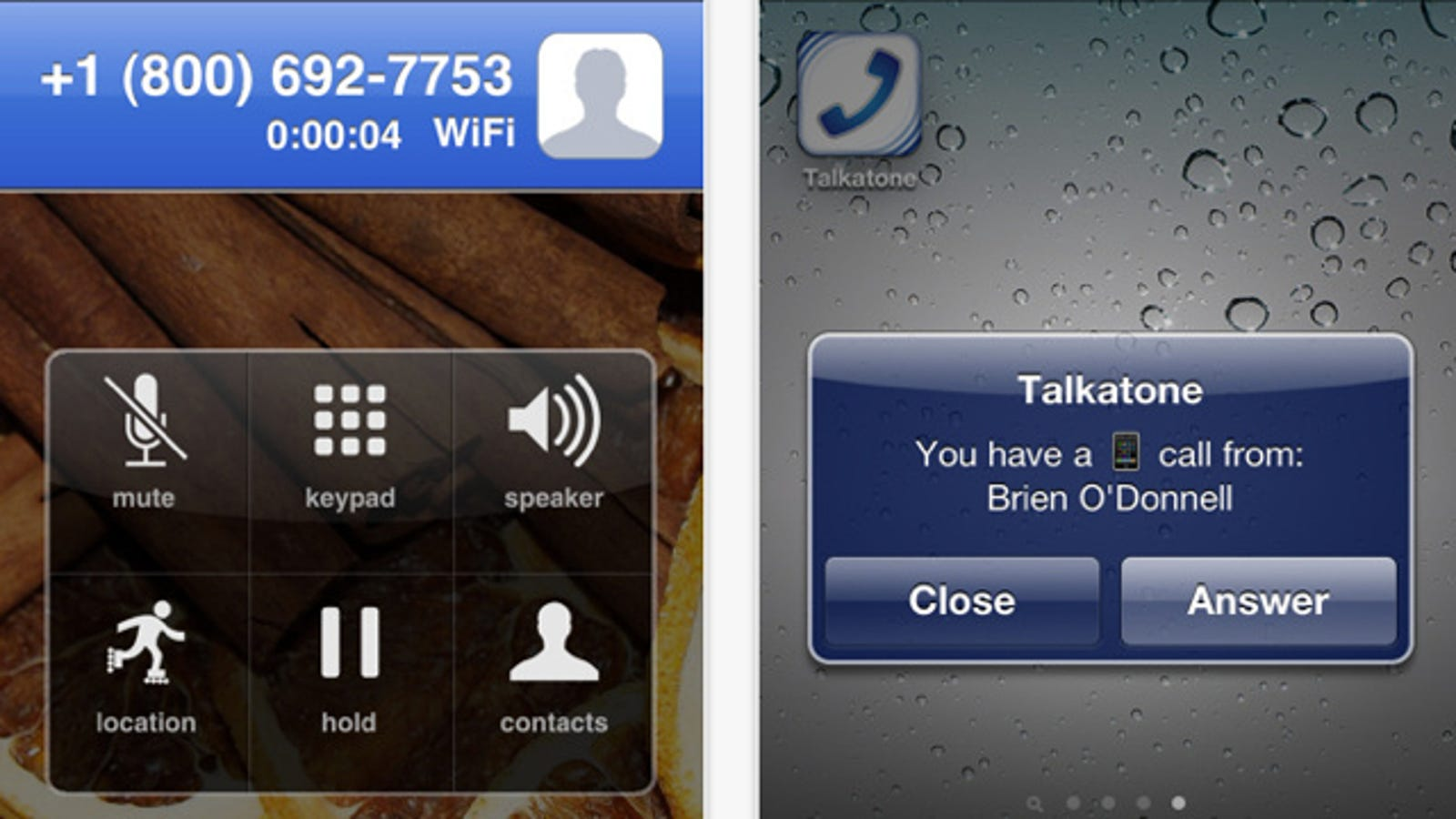Talkatone Updates to Make Free Google Voice Calling from iPhones Easier