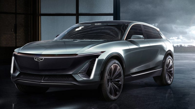 Illustration for article titled Cadillac's First Electric Car Will Be This Crossover