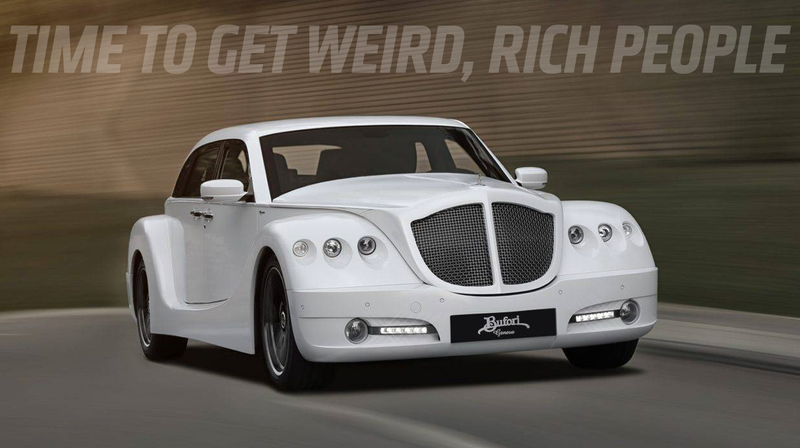 Illustration for article titled Important Reminder: Bufori Is a Company That Exists, and If You're Rich You Need Get One Instead of Some Boring-Ass Benz or Whatever