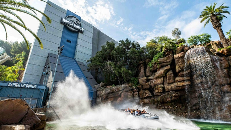 You are going to get very wet on Jurassic World: The Ride.