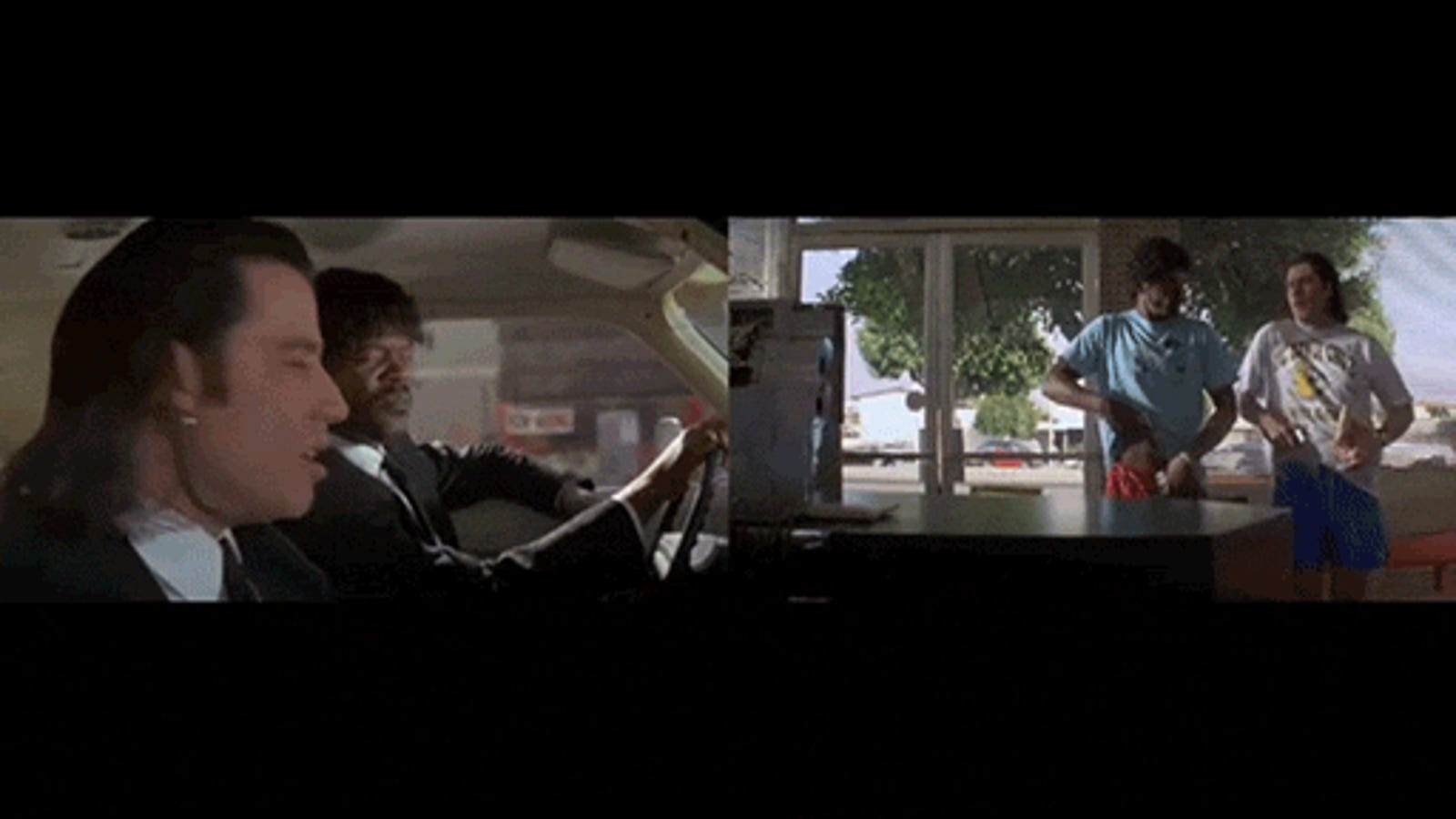 Quentin Tarantino's Characters Enter and Exit Side-By-Side in This Entertaining Edit