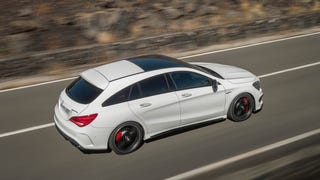 Mercedes now makes the wildest hot hatches, or whatever they're called
