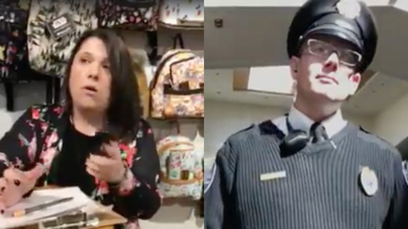 Manager Loudly Reads Store's Theft Policy to Black Customers