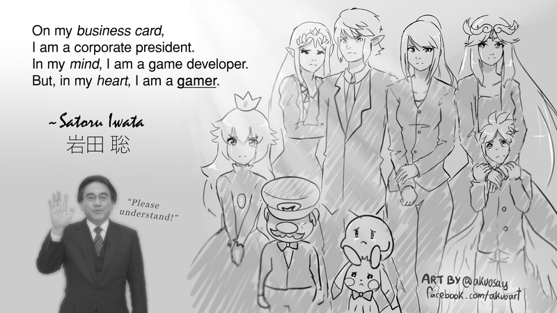 Illustration for article titled A Tribute: Mr. Iwata, The Unsung Prodigy