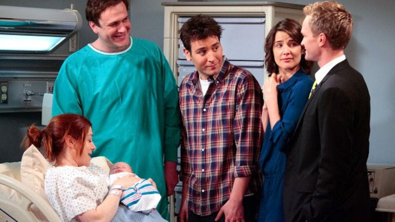 Illustration for article titled How I Met Your Mother ends another season with revelations and babies
