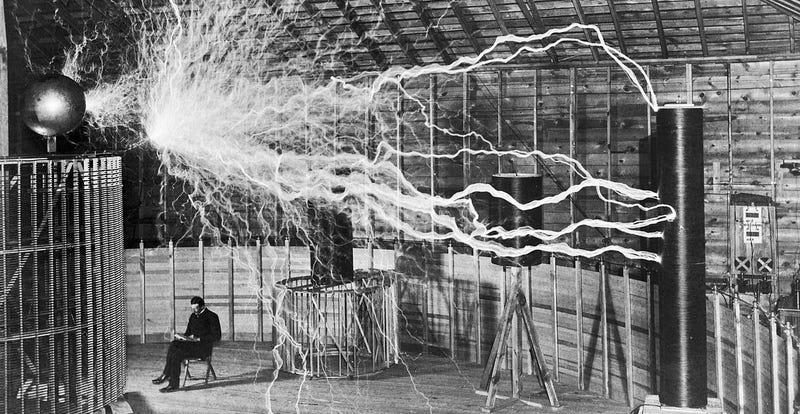 Imagen: Nikola Tesla. Dickenson Alley