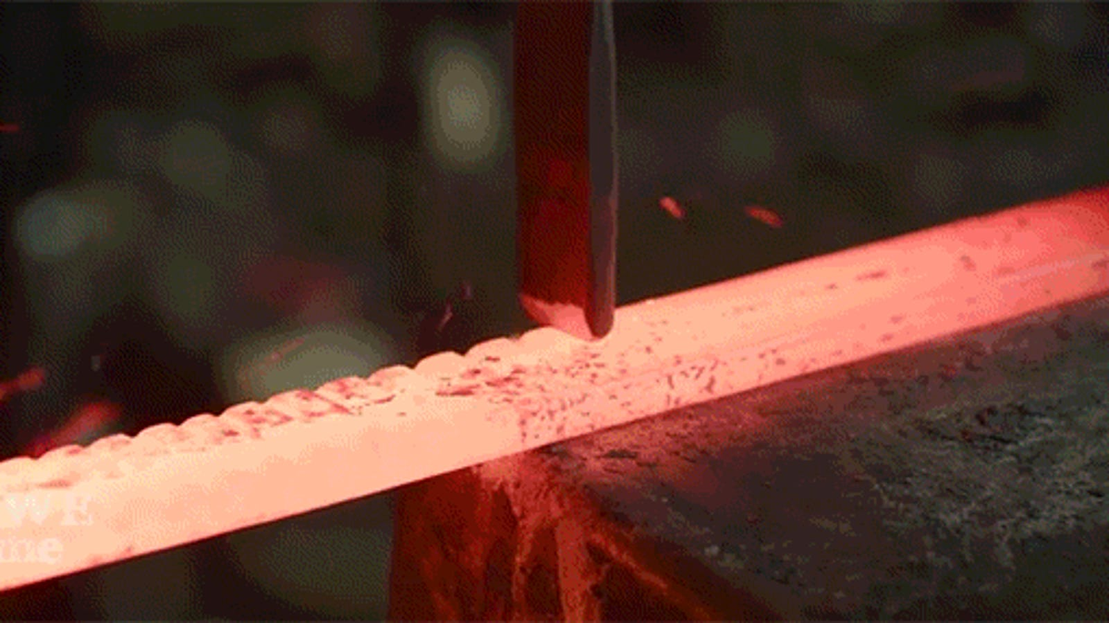 Forging This Beautifully Intricate Sword Is So Damn Impressive