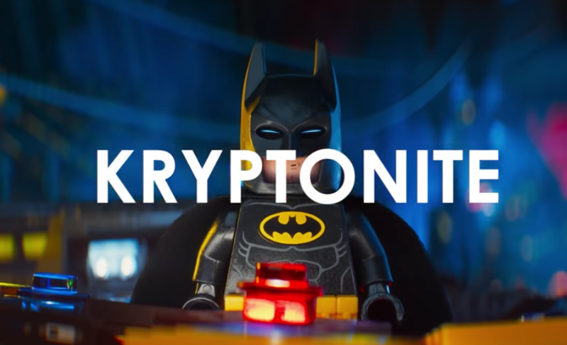 Illustration for article titled Lego Batman Has No Shame When It Comes to Promoting His Movie