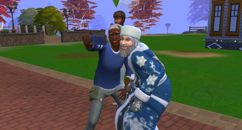 Illustration for article titled Sims 4 Expansion Lets You Bang Santa