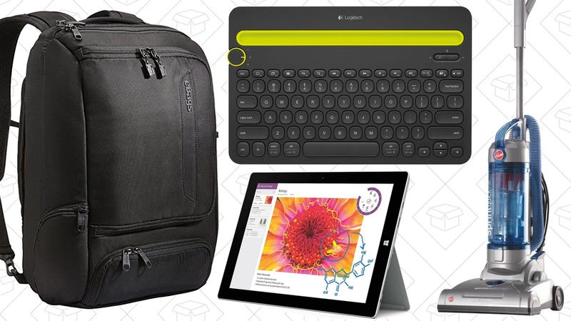 Illustration for article titled Sunday's Best Deals: Your Favorite Coffee Maker, Surface Pro 3, eBags, and More