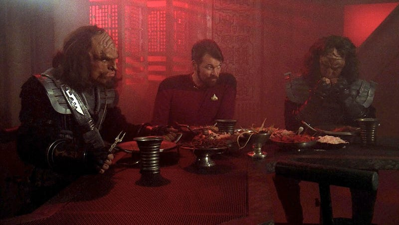 Illustration for article titled Toast The Defeat Of Your Enemies With Actual Klingon Bloodwine