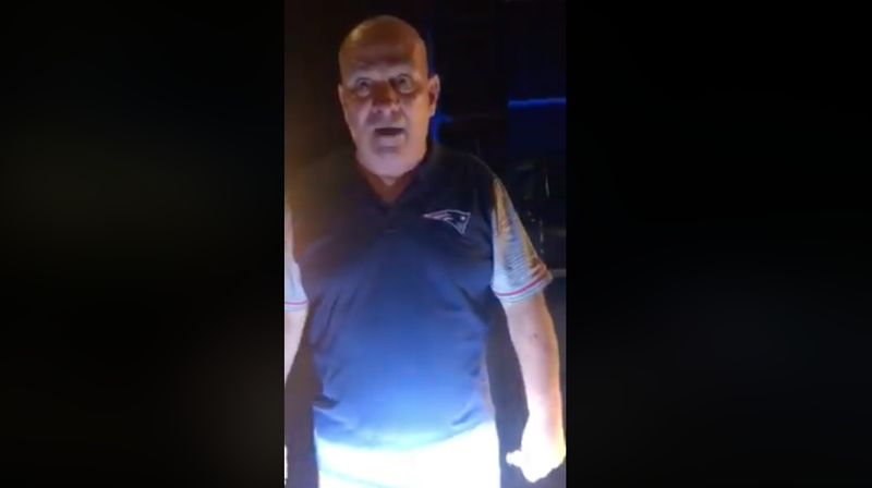 A Belligerent Patriots Fan Tried to Bully a Black Woman Out of 'His' Neighborhood and Got Shut All the Way Down [Updated]
