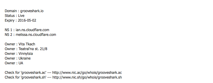 Grooveshark Defiantly Resurrected By a Rogue Pirate