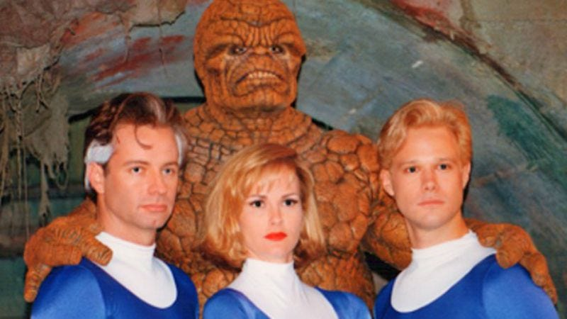 Illustration for article titled 1994's unreleased Fantastic Four movie is streaming online (for now)