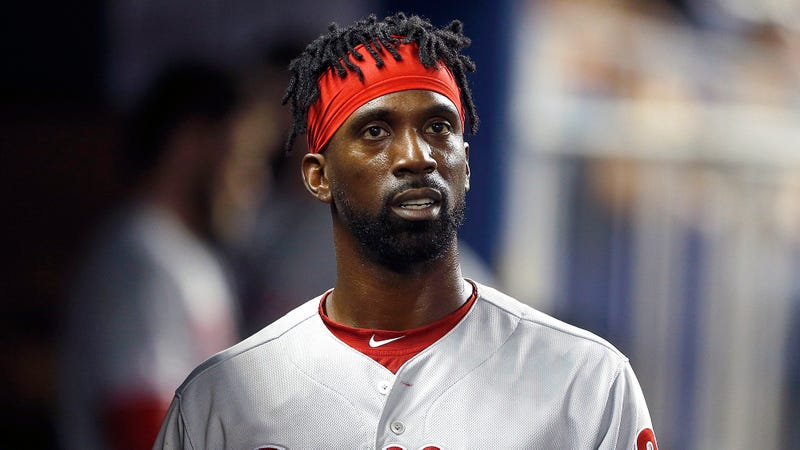 Illustration for article titled Andrew McCutchen Embarrassed He Somehow Hurt Himself Playing Baseball