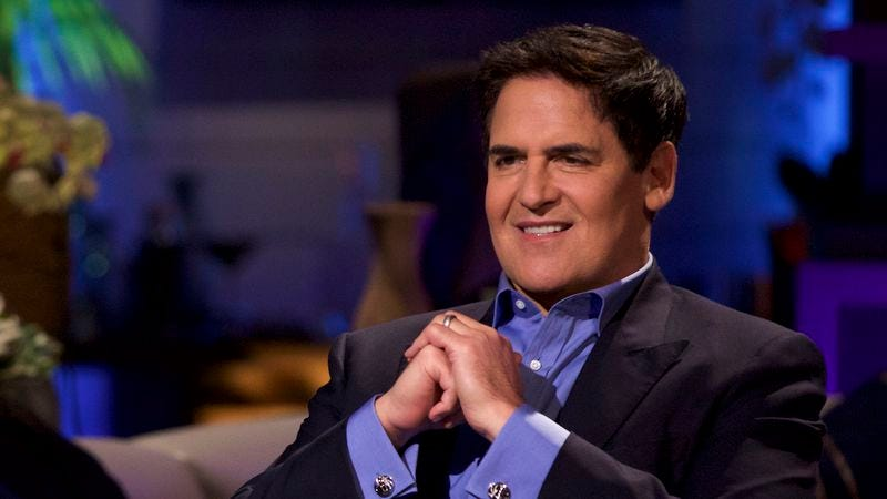 Shark Tank's Mark Cuban talks making deals and beating the shit out of people