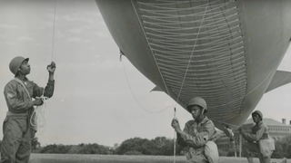 Screenshot from the book trailer for Forgotten: The Untold Story of D-Day's Black Heroes, at Home and at War, a book about the 320th Balloon Battalion BrigadeLinda Hervieux via YouTube